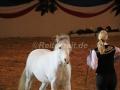 IMG_1052 Kerstin Brein u. ihre 5 kleinen Ponys - Freiheitsdressur (Holsteiner Gala Abend 2014)