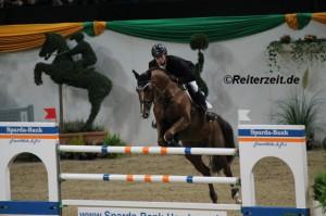 Felix Hassmann hier m. Horse Gym´s Balzaci (Kiel 2013)