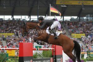 IMG_9316 Eduardo Alvarez Aznar u. Rokfeller de Pleville Boi Margot (EM Aachen 2015)