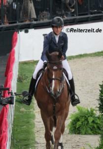 Janika Sprunger hier m. Electra van´t Roosakker (in Stuttgart 2013)