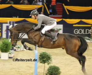 Ludger Beerbaum u. Chaman (hier in Hannover 2013)